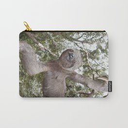 Sloth, A Real Tree Hugger Carry-All Pouch