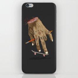 FREE HAND iPhone Skin