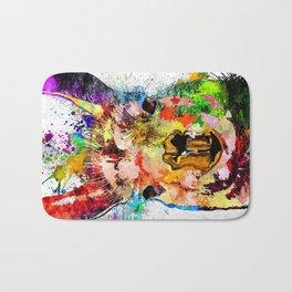 Llama Grunge Bath Mat