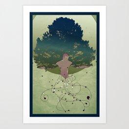 Otium II Art Print