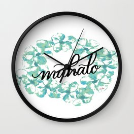 Thank you Mahalo from Hawaii Wall Clock