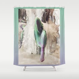 Ice Nymphs Shower Curtain
