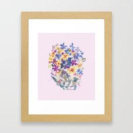 Wildflower Lovelies Framed Art Print