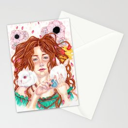 Ostara's Blessing Stationery Cards