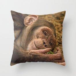 Breakfast in Bed Throw Pillow