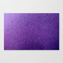 violet glitter photo Canvas Print