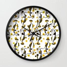 Lucky Fish 2/3 Wall Clock