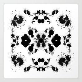 Rorschach 8 Art Print