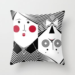 iuLieL Throw Pillow