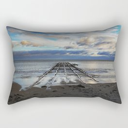 Winter Sea Rectangular Pillow