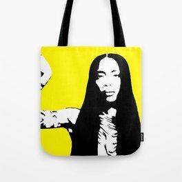 Erykah Stencil Tote Bag