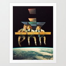 'Who We Know' Art Print