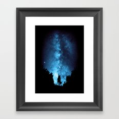 Reach For The Stars Framed Art Print