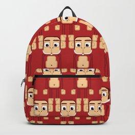 Super cute animals - Cheeky Red Monkey Backpack
