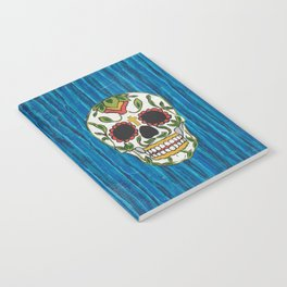 DAY OF THE DEAD - ICE BLUE VOODOO Notebook