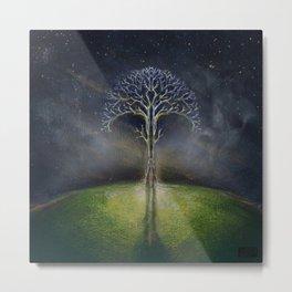 Treelogy 2 Metal Print