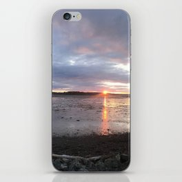 Panoramic Sunset on the Cove iPhone Skin