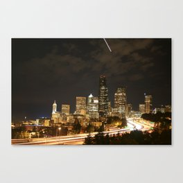 I-5 Seattle Canvas Print