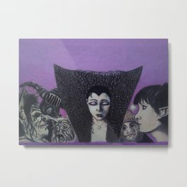 The Fight For Lily Metal Print