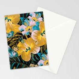 Golden Vintage Aloha Stationery Cards