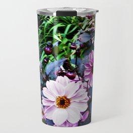 Dahlia Garden Travel Mug