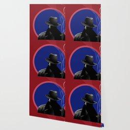 Smoking Detective Wallpaper