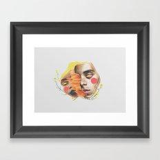 Second Date Framed Art Print
