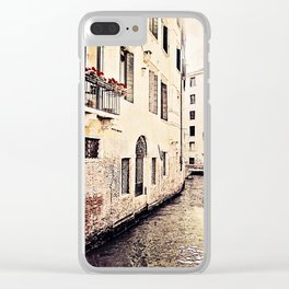 the balcony Clear iPhone Case