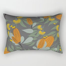 Australian Florals Rectangular Pillow