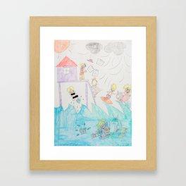 Kelly Bruneau #20 Framed Art Print