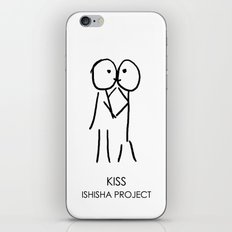 KISS by ISHISHA PROJECT iPhone & iPod Skin