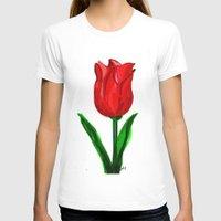 tulip T-shirts featuring Tulip by sladja