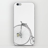 bicycle iPhone & iPod Skins featuring Bicycle by Michelle Krasny