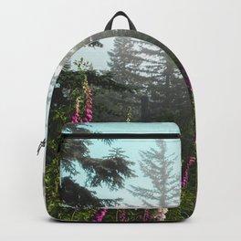 Misty Mountain Wildflowers Backpack