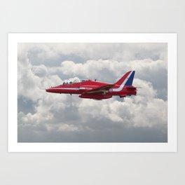 Red Arrows  - HS Hawk Art Print