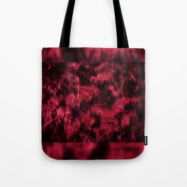 Claret stained texture abstract Tote Bag