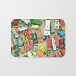 Traffic Jam Bath Mat
