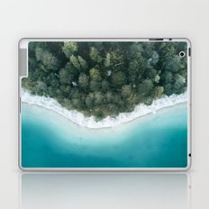 Green and Blue Symmetry - Landscape Photography Laptop & iPad Skin