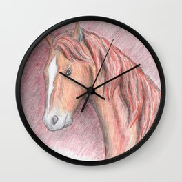 The Chestnut Wall Clock