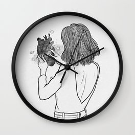 Hold on your heart. Wall Clock