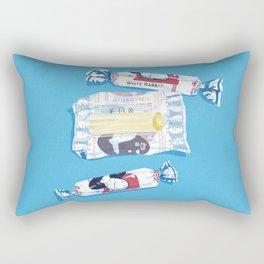 White Rabbit Candy 2 Rectangular Pillow