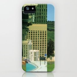 city unreal · step 2 iPhone Case