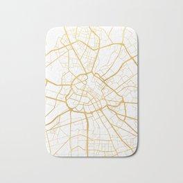 MANCHESTER ENGLAND CITY STREET MAP ART Bath Mat