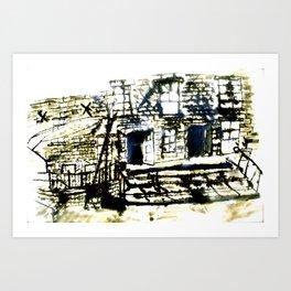 Dean Clough Mill One Art Print
