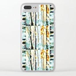 Coastal Vintage Clear iPhone Case