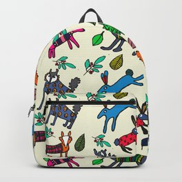 Woodland animals Backpack