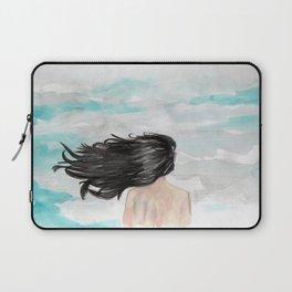 Wind in her hair Laptop Sleeve