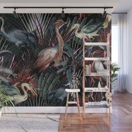 Floral and Birds XXXVIII Wall Mural