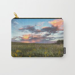 Prairie Fire - Fiery Sky at Sunset in Oklahoma Carry-All Pouch