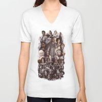 atlanta V-neck T-shirts featuring Atlanta by EPIK